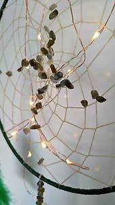 Green Gemstone Labradorite Dreamcatcher *Handmade* North Lakes Pine Rivers Area Preview