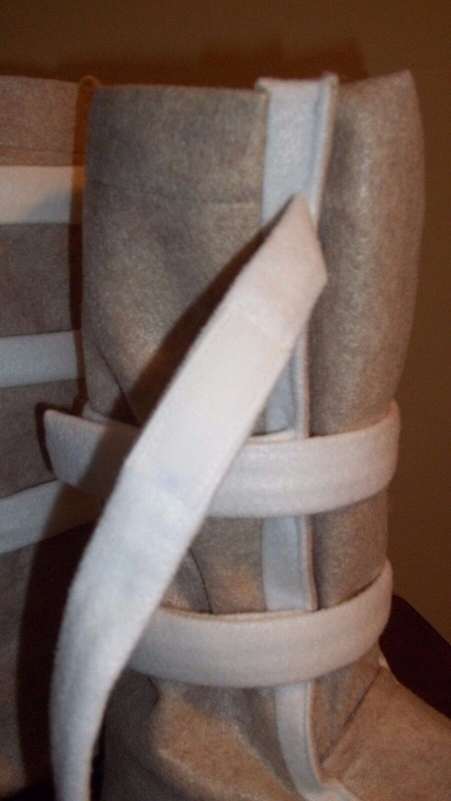 Hoth Snow Boots Shoe Covers For A Luke Skywalker Or Han Solo Costume Cosplay - $80.00