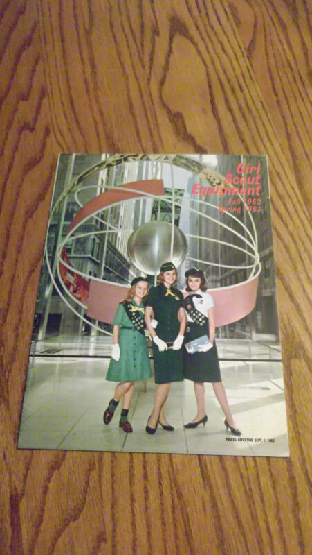 GIRL SCOUT CATALOG 1962-1963