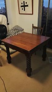 Vintage expandable table Mosman Mosman Area Preview