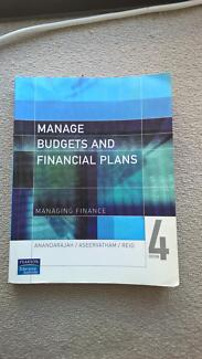 Manage Budgets and Financial Plans 4th Edition Docklands Melbourne City Preview