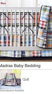 Baby boy crib bed set