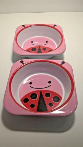 Skip Hop Zoo Bowls Set of 2 Melamine Dishwasher Safe