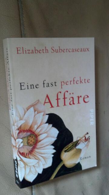 Elizabeth Subercaseaux: Eine fast perfekte Affäre