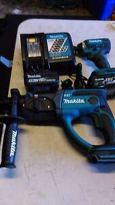 Makita 18V Power Tool Set Green Valley Liverpool Area Preview