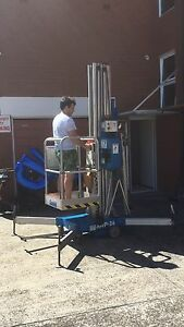 Electric Genie AWP 36 one man lift, in great condition Dee Why Manly Area Preview