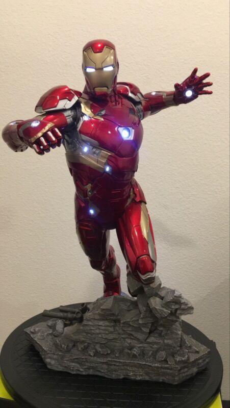 Iron Studios Marvel Avengers Iron Man Mark XLVI MK 46 1/4 Legacy Statue