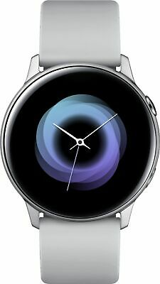 Samsung - Galaxy Watch Active Smartwatch 40mm Aluminum - Sil