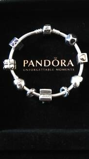 New Pandora Bracelet and Used Charms
