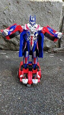 JIA QI Transformers TT669 RC 2.4G Optimus Prime 8+ Remote Control Robot Car