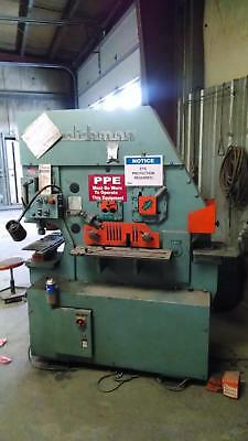 Scotchman Model F185 480 Volt 3ph 185 Ton Ironworker New 2006 Wdies