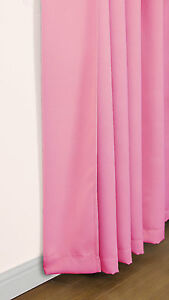 NEW ECLIPSE BLACKOUT DIMOUT THERMAL CURTAINS IN VARIOUS COLOURS/SIZES, LINING