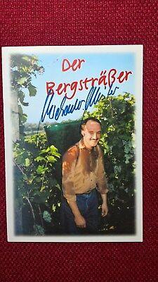 Original-Autogramm von Michael Meister (Politik), Farbbild, Postkartengröße