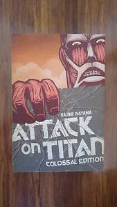 ATTACK ON TITAN - COLOSSAL EDITION 1 - NEW NEVER READ Elsternwick Glen Eira Area Preview