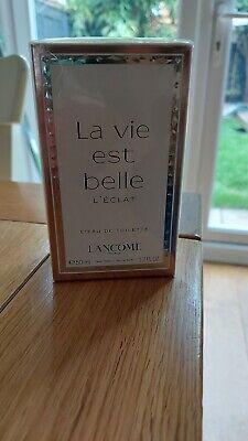 Lancome La Vie Est Belle L'Eclat 50ml EDT Spray For Women NEW BOXED SEALED