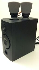 Classic Harman Kardon Dell HK395 Subwoofer & 2 Satellite Speakers System