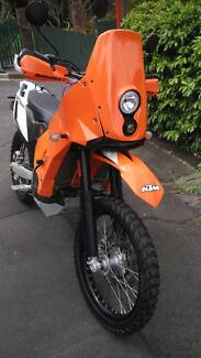 2012 KTM 690 Enduro R. Full Rally Raid Conversion.