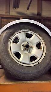 Subaru Forester wheels and trailer parts. Wynnum West Brisbane South East Preview