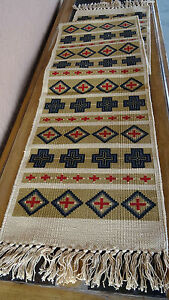 Canvas Stencil Table Runner 163 HIRUN Southwest Southwestern Design Western
