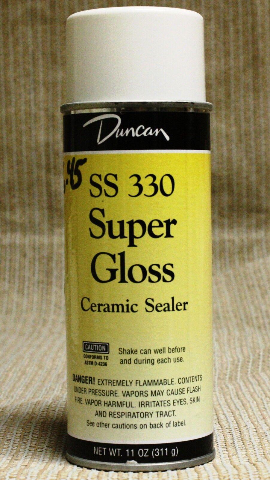 Duncan Ceramic Spray Sealer 11oz Can Super Gloss Ss 330