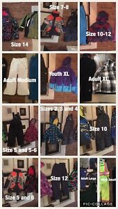 Ski and Snowboard Gear,  Pants,Jackets,Helmets,Goggles,Boots,Etc