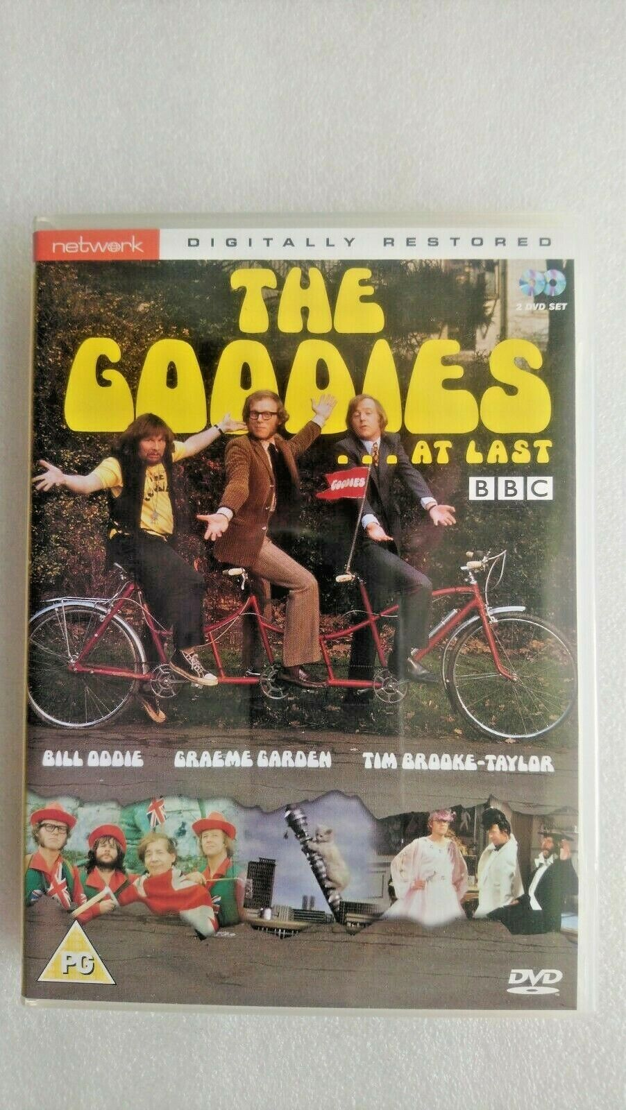 The Goodies - At Last! (DVD, 2003)