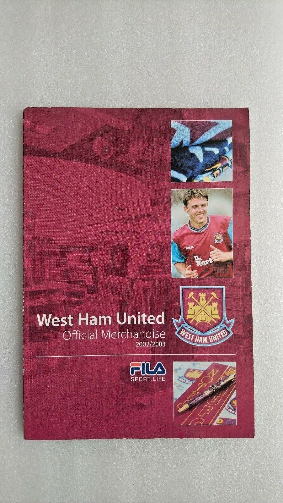 WEST HAM UNITED ( Official Merchandise Magazine 2002/3