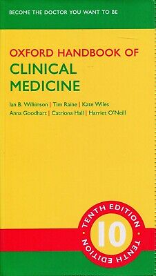 Oxford Handbook of Clinical Medicine 10th edition (PDF file) - Fast Delivery