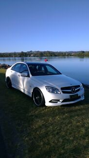 Mercedes C250 CGI with AMG sports kit New Farm Brisbane North East Preview