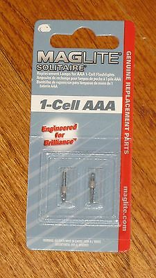 Maglite 1 Cell AAA Solitaire Replacement Bulbs Maglight