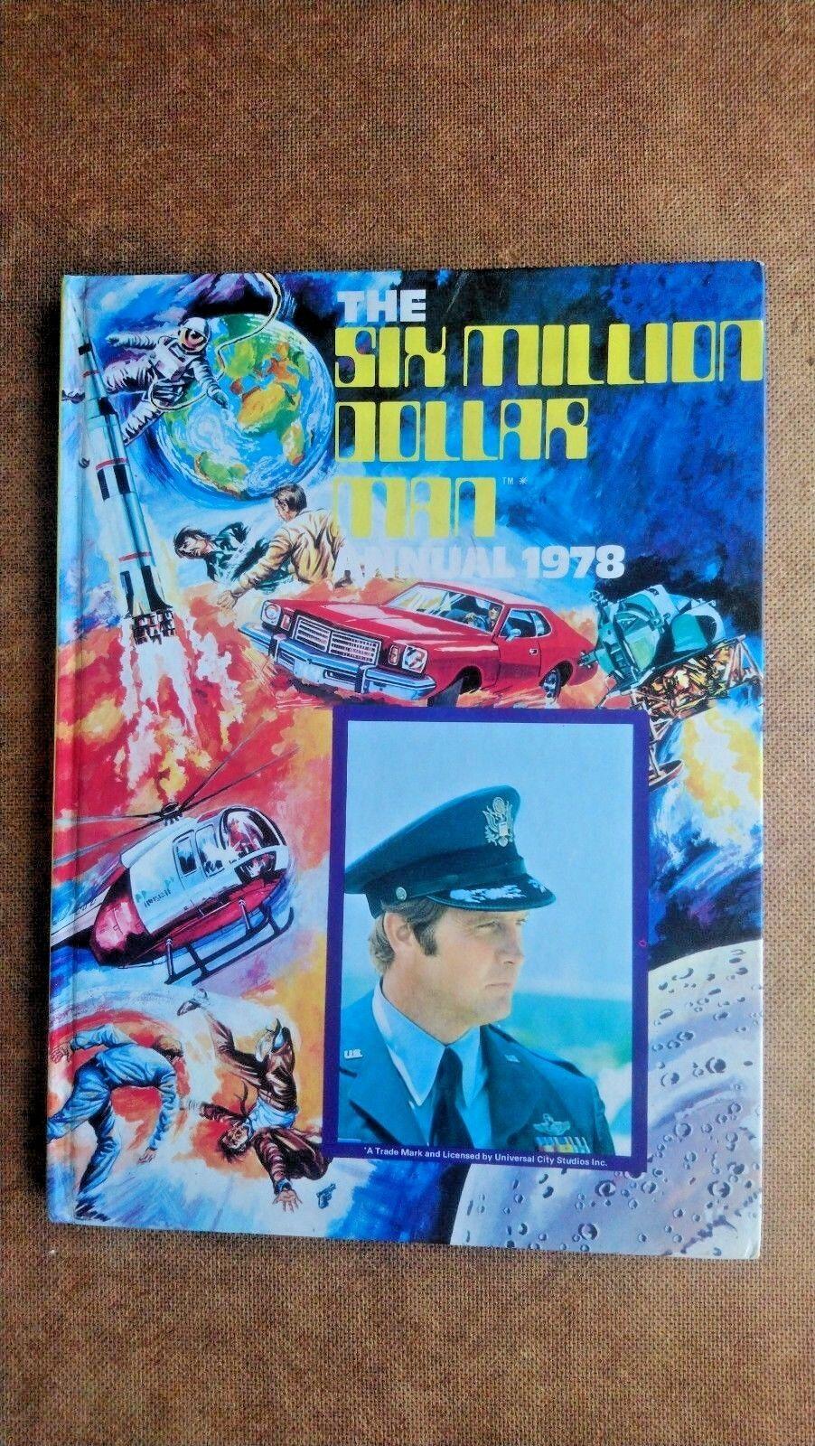 Six Million Dollar Man Annual 1978