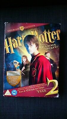 Harry Potter And The Chamber Of Secrets Ultimate Edition UK BLU RAY