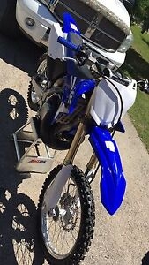 2015 Yamaha yz 250 in new condition