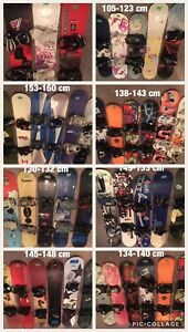 Snowboards,Boots,  Helmets,Goggles,Bags, Pants,Jackets,Etc