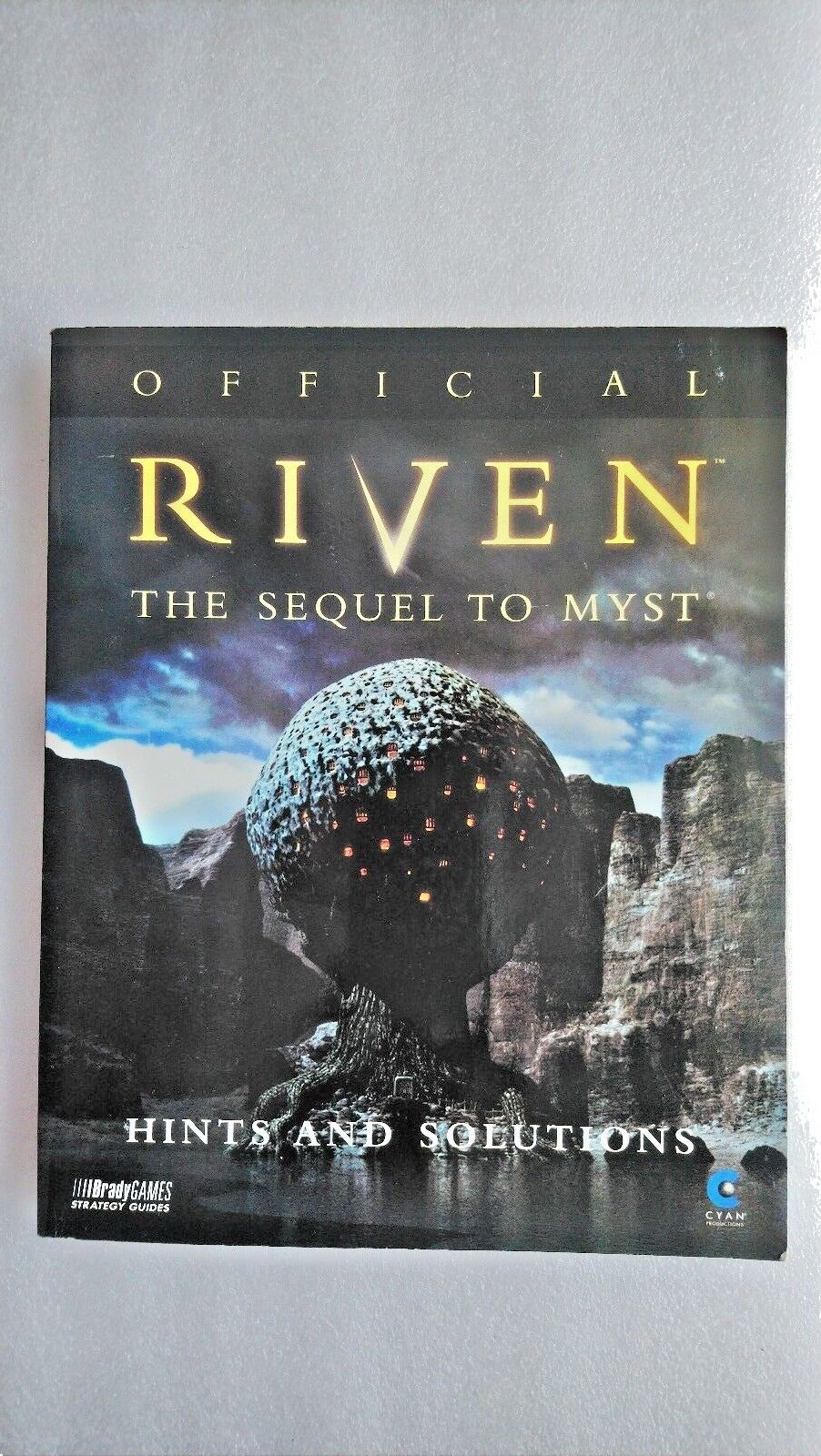Official Riven: Hints and Solutions by BradyGames (Paperback, 1997)