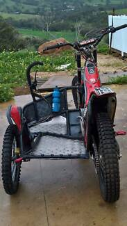 Montesa 4RT Trials Sidecar