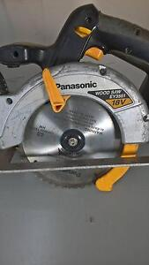 PANASONIC CORDLESS SAW & CHARGER Grasmere Camden Area Preview