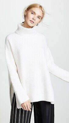 Le Kasha Lisbon cashmere turtleneck sweater in ivory   small s sablyn