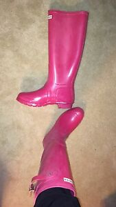 Pink Hunter boots-New