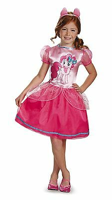 Baby Pie Costume (Pinkie Pie Costume My Little Pony Girls Dress Child Halloween Fancy Hasbro)