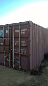 20 ft Sea Container SOLD TO CLINT PENDING PICK UP Hocking Wanneroo Area Preview