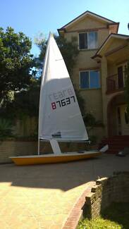 Laser Sailing Dinghy – Sail No. 87637 Marsfield Ryde Area Preview