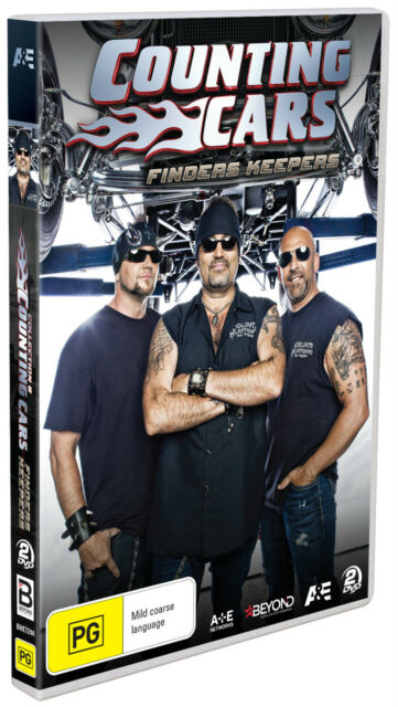 BRAND NEW Counting Cars - Finders Keepers (DVD, 2-Disc Set) R4 Collection 8