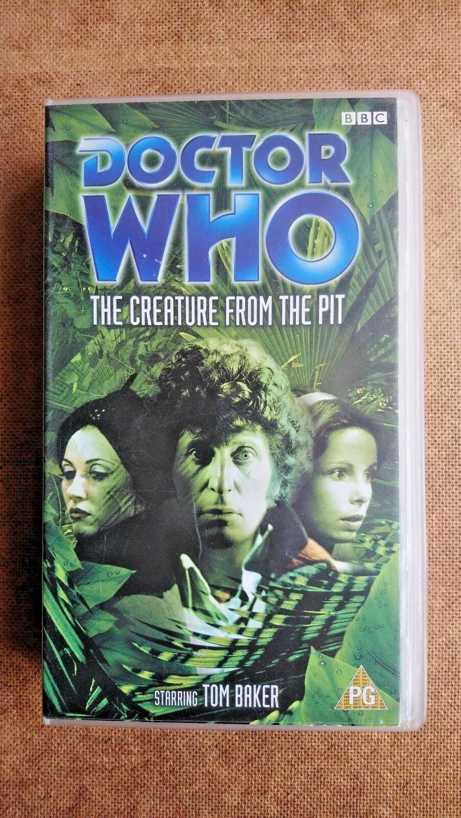 Doctor Who - The Creature From The Pit (VHS, 2002) - Tom Baker