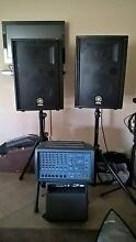 PA System - Wharfedale Pro Mixer plus Yamaha speakers Southern River Gosnells Area Preview