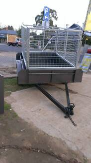 BUILT TOUGH CAGED 6X4 BASIC TRAILER Willaston Gawler Area Preview