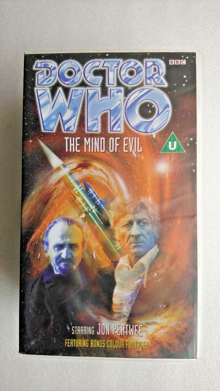 Doctor Who - The Mind Of Evil (VHS, 1998, 2-Tape Set) - Jon Pertwee