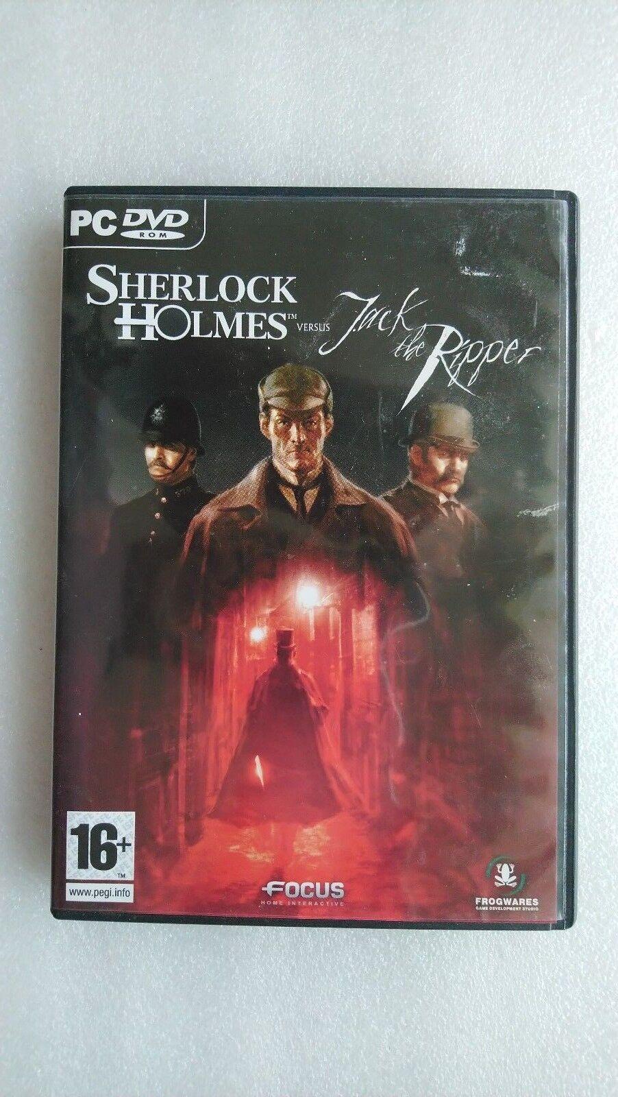 Sherlock Holmes Versus Jack the Ripper (PC Windows 2009)