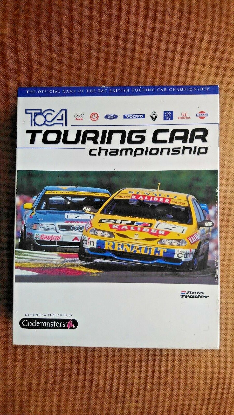 TOCA Touring Car Championship (PC: Windows, 1997) - Big Box Edition