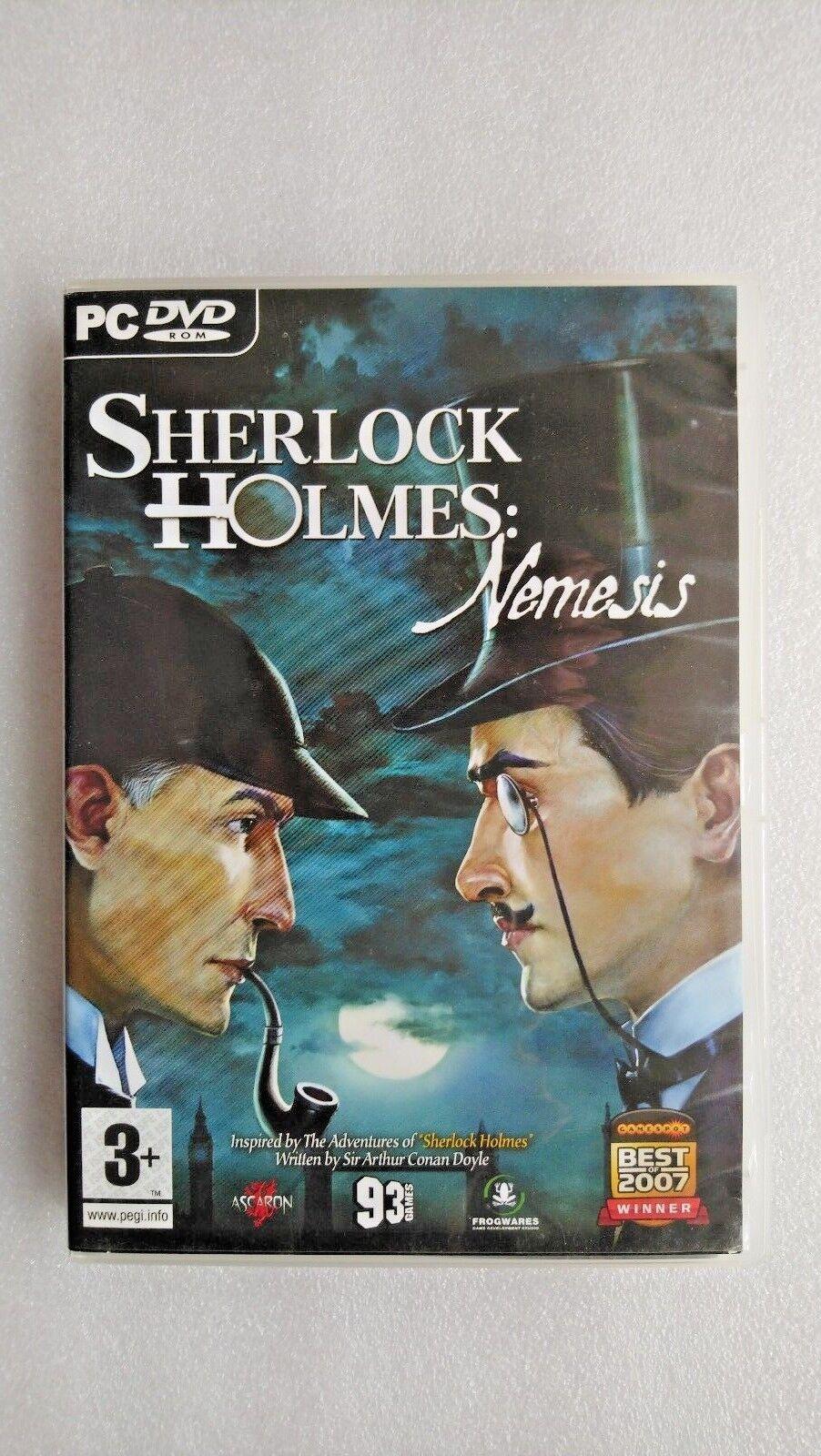 Sherlock Holmes: Nemesis (PC: Windows, 2008)